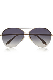 Palomino aviator metal sunglasses