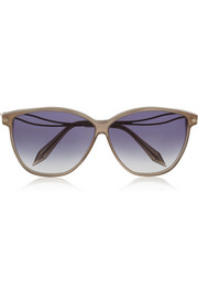 Victoria Beckham Vienna cat-eye acetate sunglasses