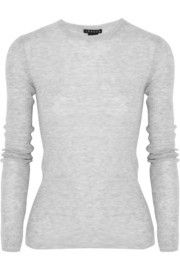 Theory Phoeby ribbed stretch-knit top