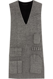 Alexander Wang Wool-blend twill mini dress