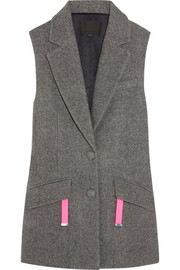 Alexander Wang Oversized wool-blend vest