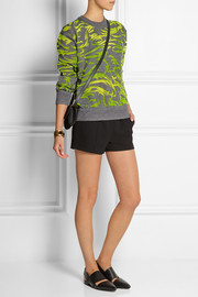 Alexander Wang Burnout-effect wool-blend sweater