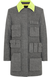 Alexander Wang Wool-blend twill coat