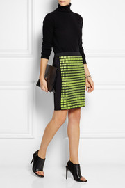 Alexander Wang Thermo stretch-knit pencil skirt