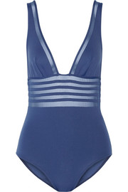 Kosmos mesh-paneled swimsuit