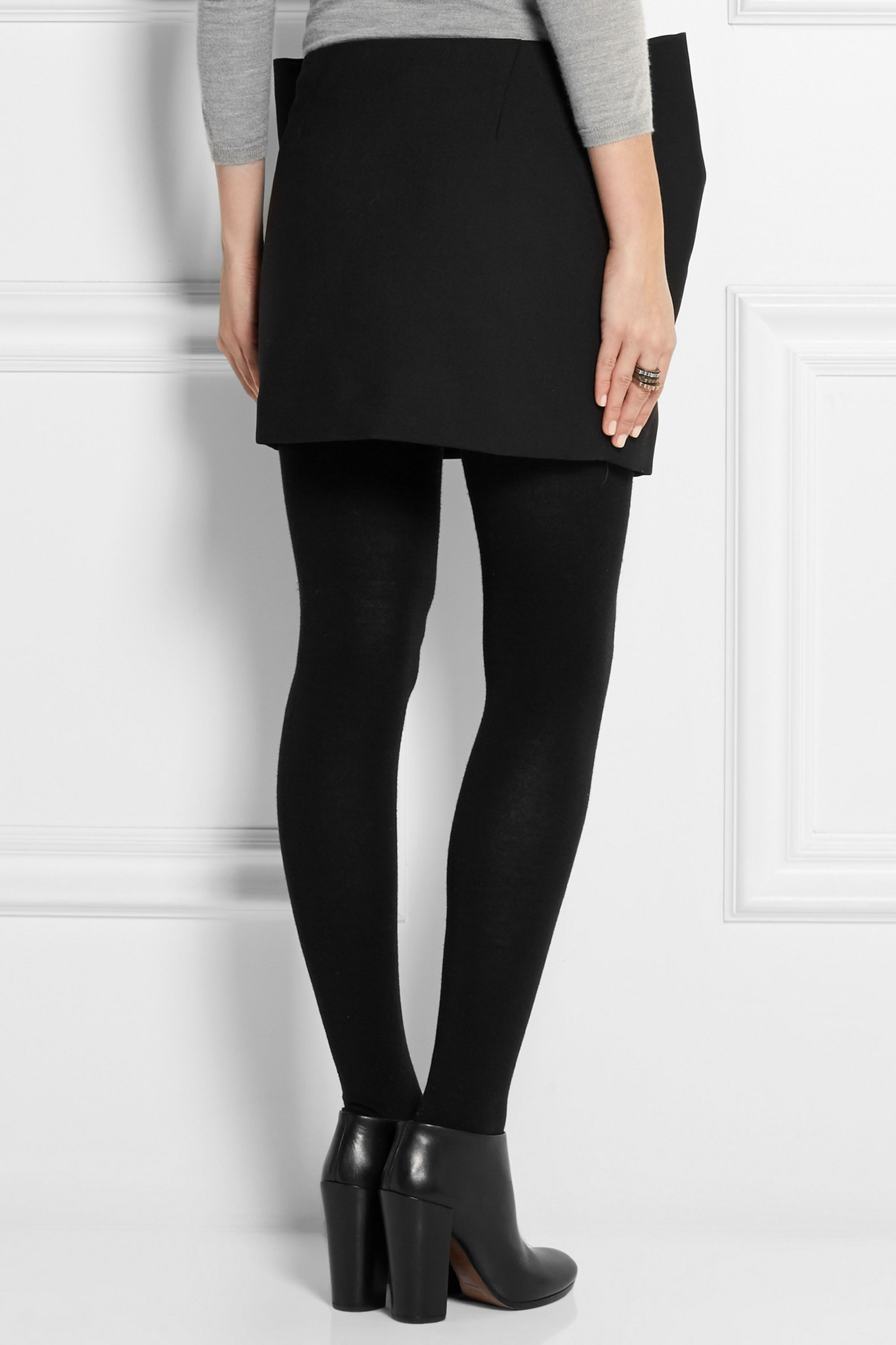 Marc by Marc Jacobs Sixties bow-effect twill mini skirt