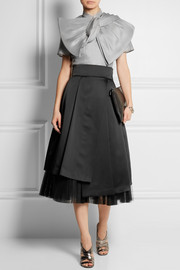 Marc by Marc Jacobs Mayu bow-effect silk-organza top