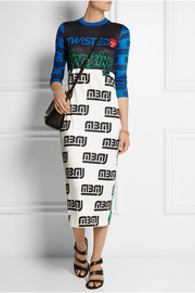 Marc by Marc Jacobs Rally Motocross printed modal dress