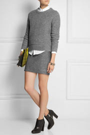 Marc by Marc Jacobs Walley waffle-knit wool-blend sweater