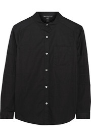 Aiko cotton-blend poplin shirt