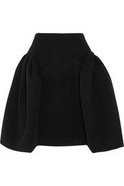 Ruched bonded skirt
