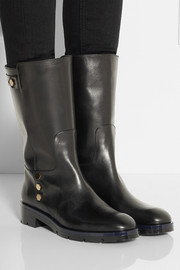 Tod's Stud-embellished leather boots
