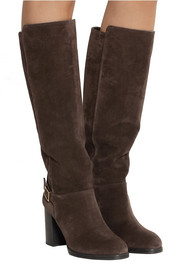 Tod's Suede knee boots
