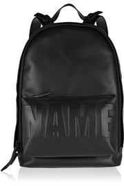 3.1 Phillip Lim Name Drop embossed leather backpack