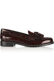Tod's Polished-leather loafers