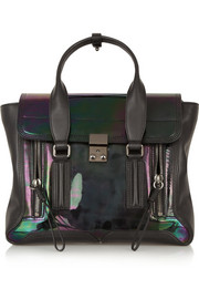 3.1 Phillip Lim The Pashli medium patent-leather trapeze bag