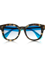 Fendi D-frame acetate sunglasses