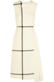 3.1 Phillip Lim Checked wool and washed-silk dress