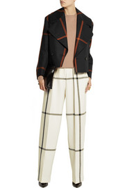 3.1 Phillip Lim Pleat-front wool wide-leg pants