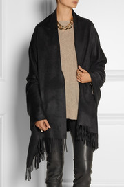 Burberry Shoes & Accessories Fringed cashmere wrap