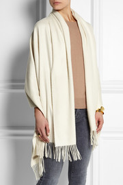 Burberry Shoes & Accessories Brushed-cashmere wrap
