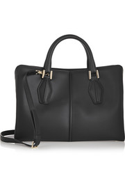 D-Cube Shopping medium leather tote