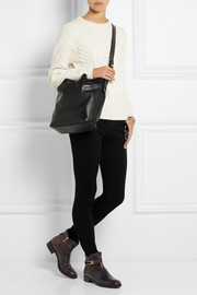 Tod's Flower leather shoulder bag