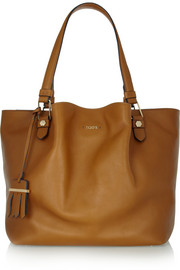 Tod's Flower large leather tote