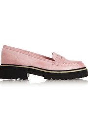 MM6 Maison Martin Margiela Leather loafers