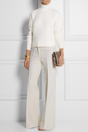 Derek Lam Merino wool-blend bouclé turtleneck sweater