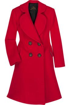 Vivienne Westwood AnglomaniaWool-blend princess coat