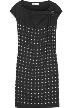See by Chloé Stud-embellished silk dress