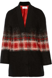 Thakoon Addition Printed wool-blend jacket