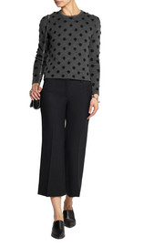 Thakoon Addition Polka-dot wool-blend sweater
