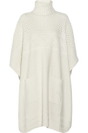 ALICE by Temperley Lori chunky-knit poncho