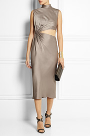 Jason Wu Cutout satin dress
