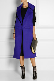 Reed Krakoff Double-breasted cashmere and wool-blend sleeveless coat