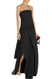 Reed Krakoff Crepe and chiffon gown