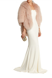 Temperley London Lourdes shearling jacket