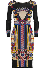 Temperley London Portillo jacquard-knit dress