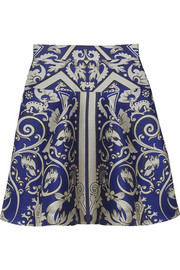 Temperley London Isadora jacquard mini skirt