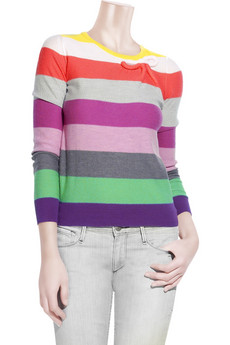 Sonia by Sonia Rykiel Wool striped sweater