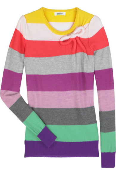 2356d9236f Sonia by Sonia Rykiel | Striped wool sweater | NET-A-PORTER.COM