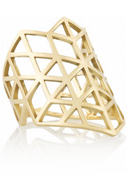 Lito Izel 14-karat gold ring