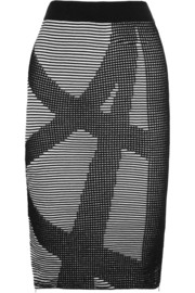 Dagmar Jenat ribbed-knit skirt