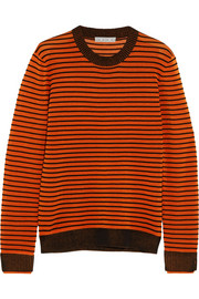 Ljuba Ripple striped ribbed-knit sweater