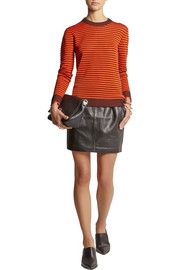 Dagmar Ljuba Ripple striped ribbed-knit sweater