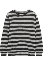 R13 Kate striped wool-blend sweater