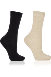 Falke Set of two wool-blend socks