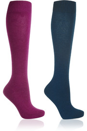 Falke Set of two knitted knee socks